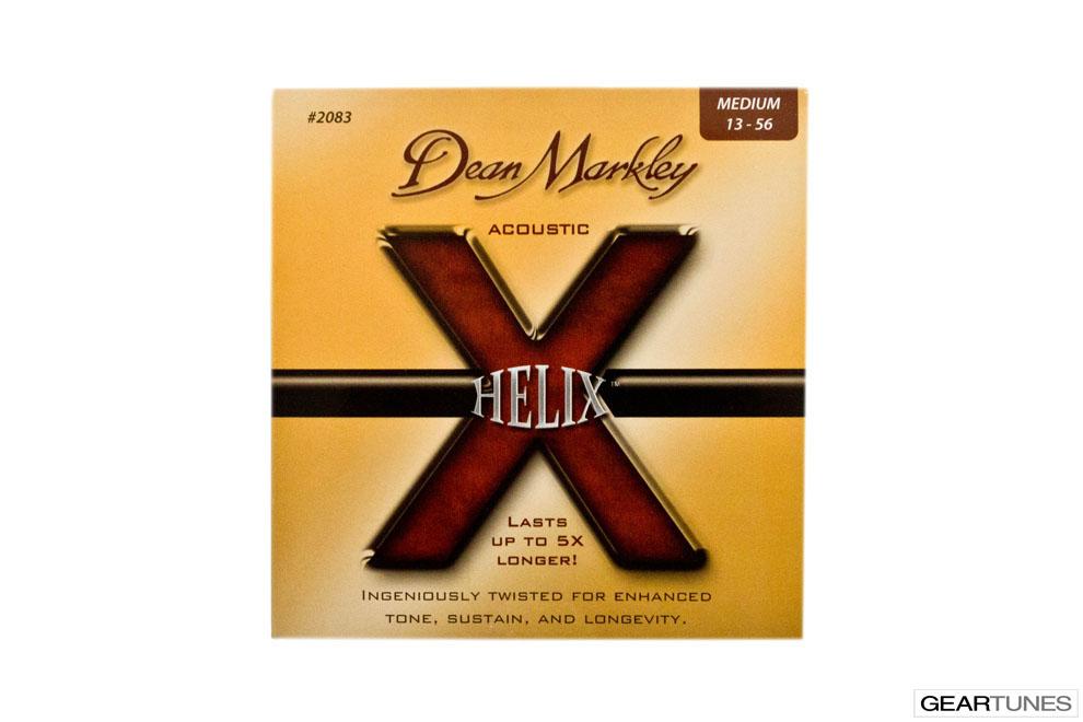 Strings Dean Markley Helix HD 80/20, Medium 13-56 (8 pack)