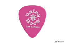 Daisy Rock 0.71 Delrin Pink Medium Guitar Picks (3 dozen)