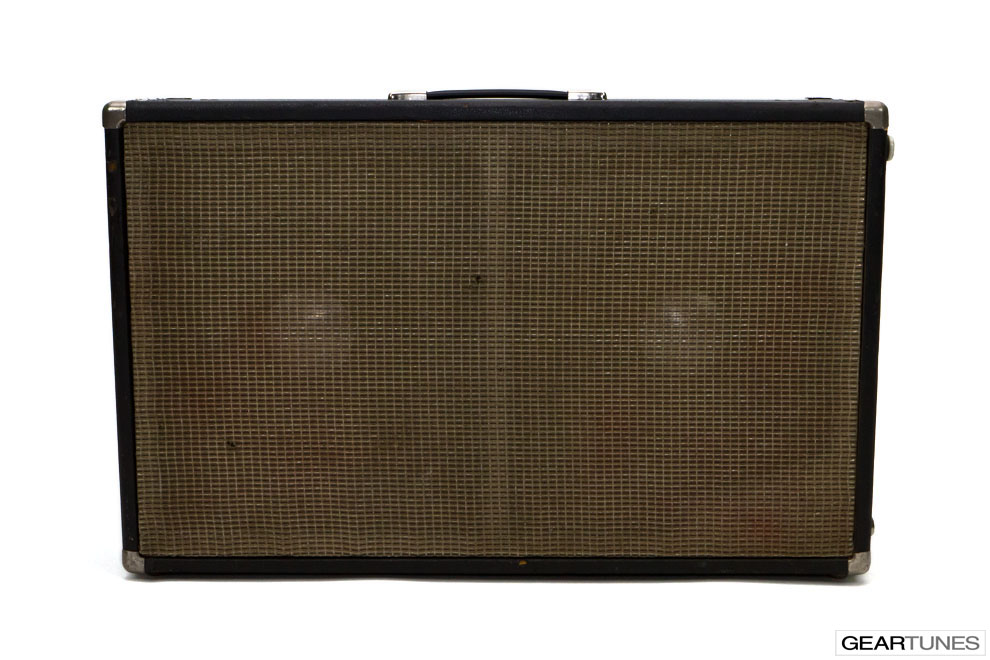 2x12 Closed Back Fender Bassman Amp 14
