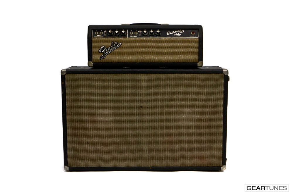 2x12 Closed Back Fender Bassman Amp 4