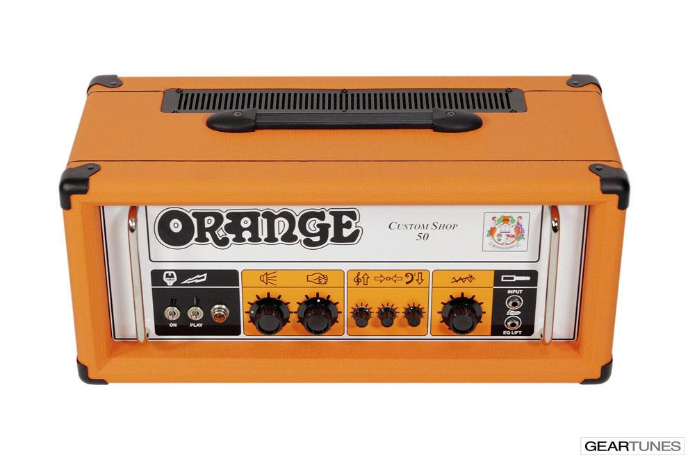 Heads Orange Custom Shop 50