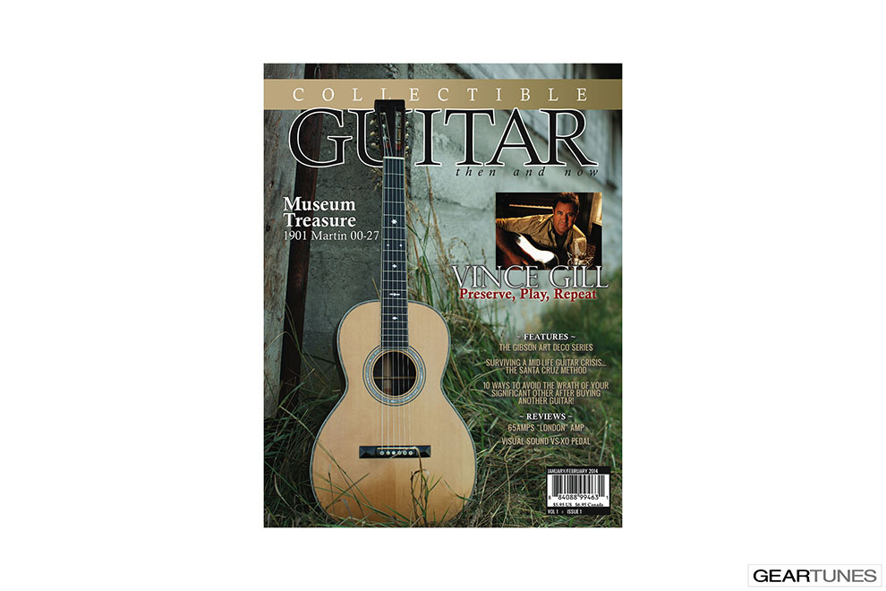 Educational Books, Downloads, CDs, DVDs, and Subscriptions Collectible Guitar 1 Year Subscription to Collectible Guitar