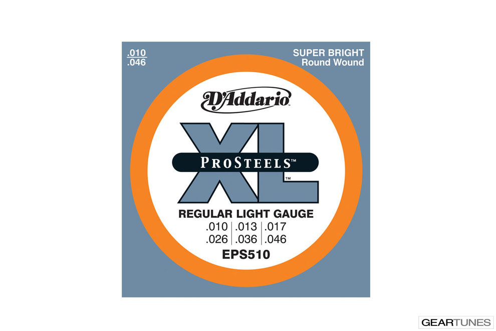 Accessories D'Addario EPS510 ProSteels, Regular Light, 10-46