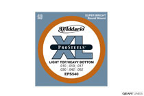 D'Addario EPS540 ProSteels, Light Top/Heavy Bottom, 10-52