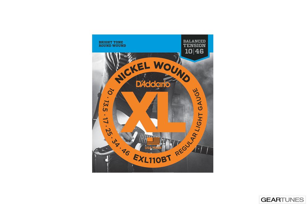 Accessories D'Addario EXL110BT Nickel Wound, Balanced Tension Regular Light, 10-46