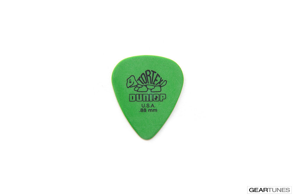 Accessories Dunlop Manufacturing Tortex .88mm Green