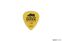 Dunlop Manufacturing Ultex Sharp 1mm Gold