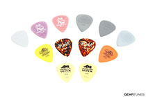 Dunlop Manufacturing Pick Variety Pack - Light/Medium