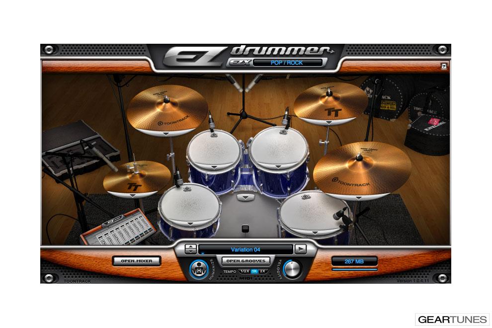 Recording Toontrack EZ Drummer 2