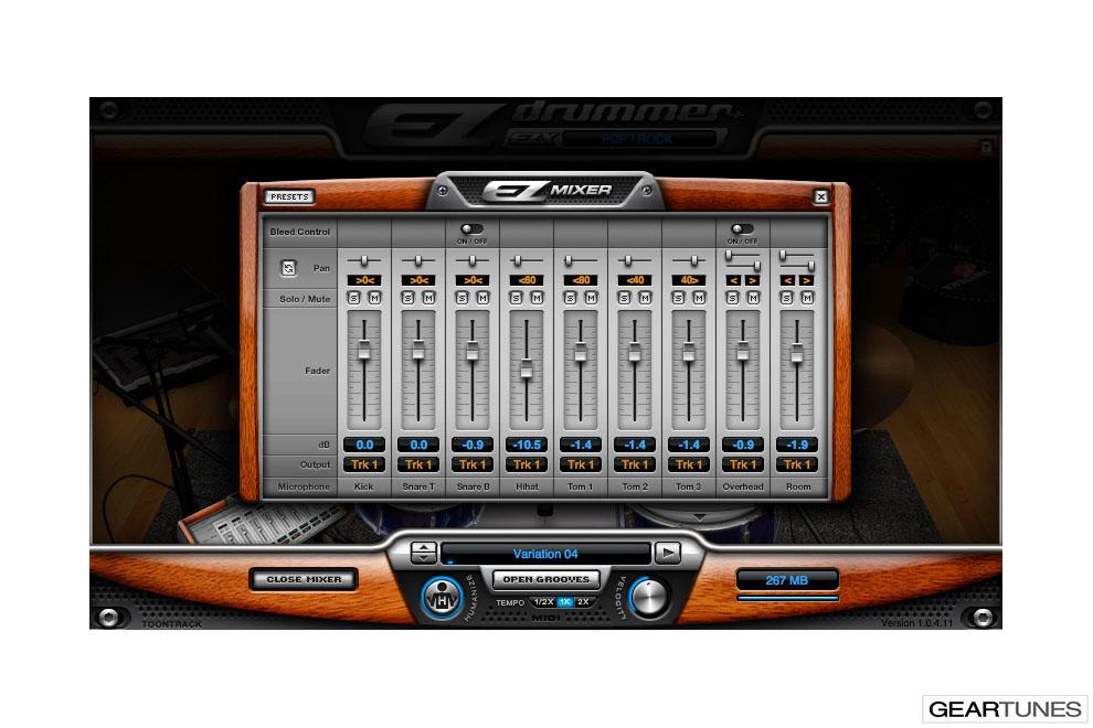 Recording Toontrack EZ Drummer 3