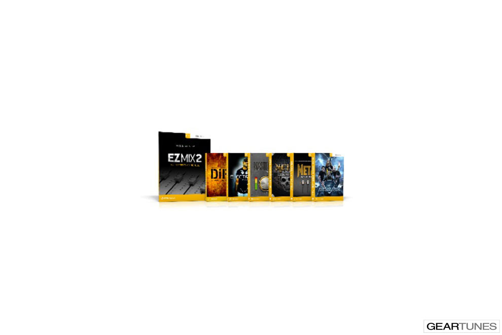 New to Geartunes Toontrack EZmix 2 Metal Bundle