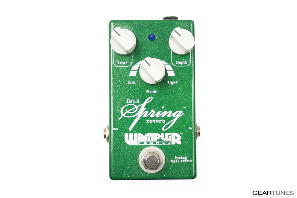 Reverb Wampler Pedals Faux Spring Reverb