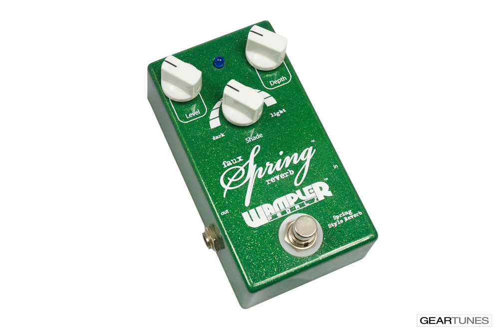 Reverb Wampler Pedals Faux Spring Reverb 2