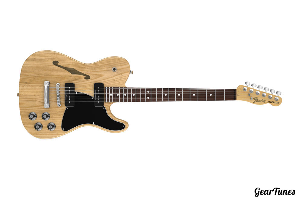 Hollow and Semi-Hollow Fender Jim Adkins JA-90 Telecaster Thinline 3