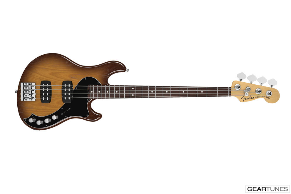 Bass Fender American Deluxe Dimension Bass IV HH 2