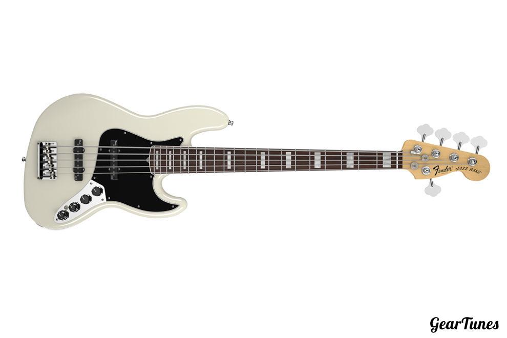 5 String Fender American Deluxe Jazz Bass V 3