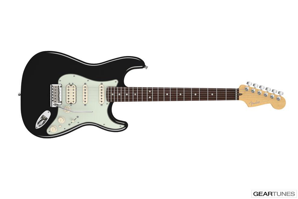 Guitars Fender American Deluxe Stratocaster HSS