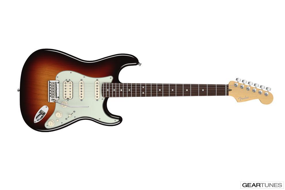 Guitars Fender American Deluxe Stratocaster HSS 2