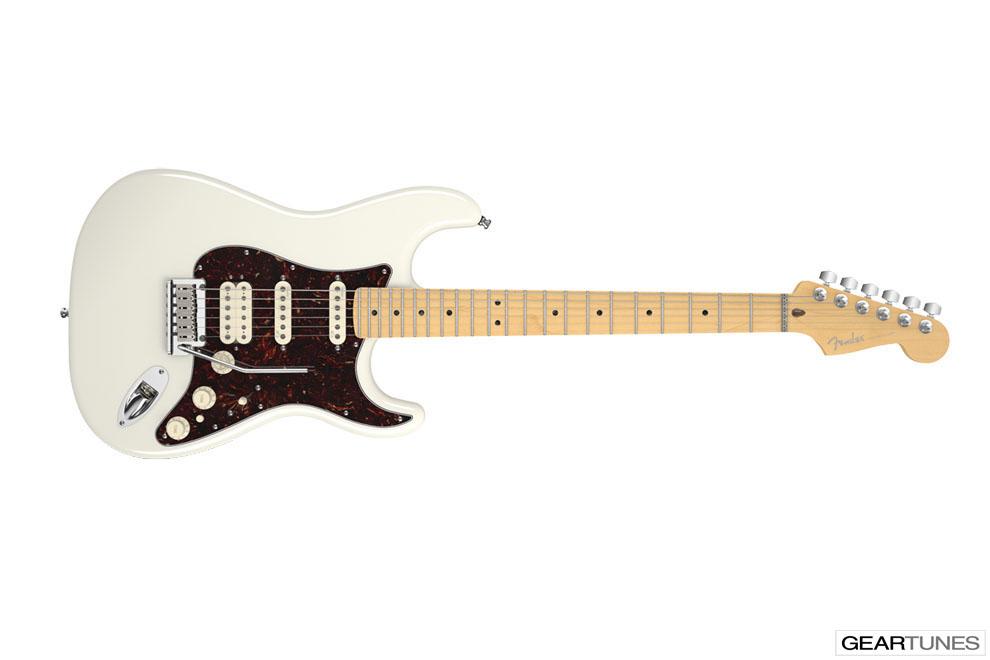 Guitars Fender American Deluxe Stratocaster HSS 8