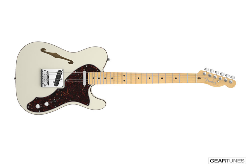 Hollow and Semi-Hollow Fender American Deluxe Telecaster Thinline