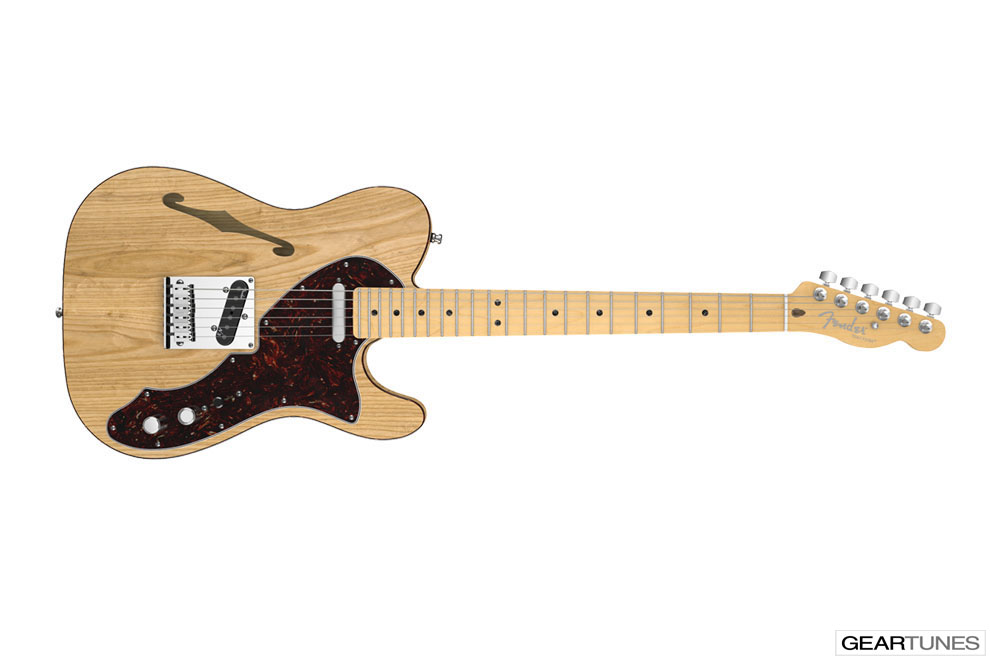 Hollow and Semi-Hollow Fender American Deluxe Telecaster Thinline 3
