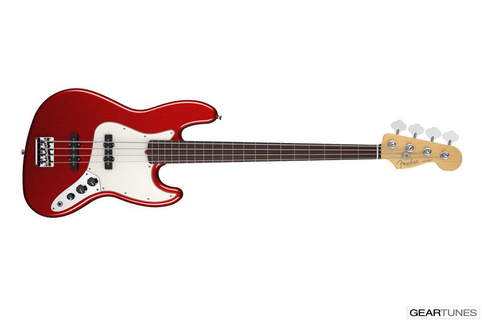 Bass Fender American Standard Jazz Bass Fretless 3