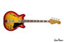 Hollow and Semi-Hollow Fender Coronado Bass 4