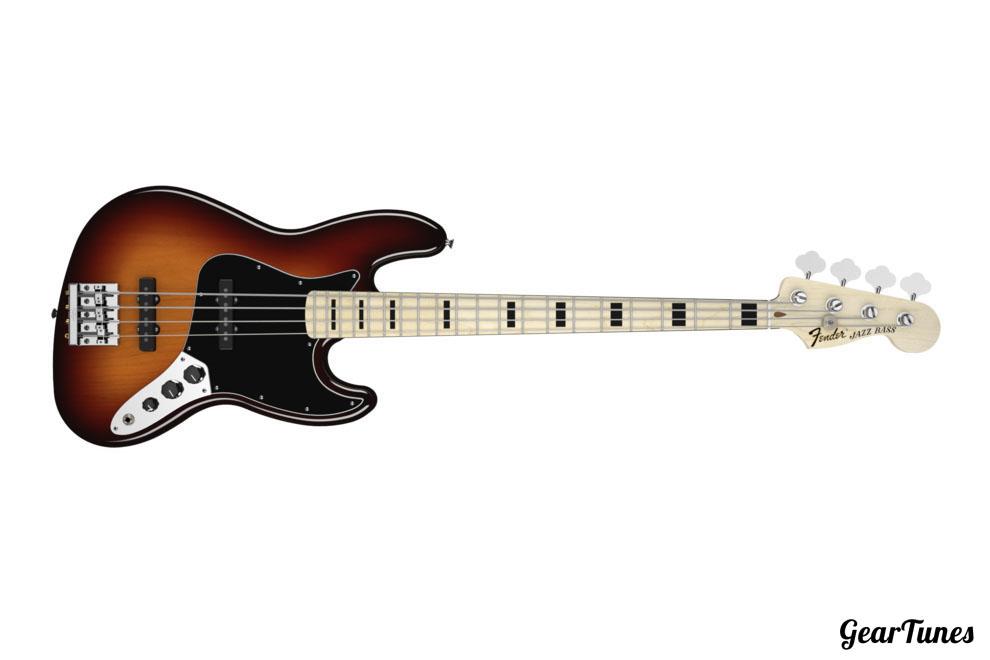 Bass Fender Geddy Lee Jazz Bass 2