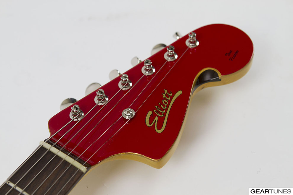 GearShots Elliott Guitars Peter Stroud Signature Custom Tone Master 3