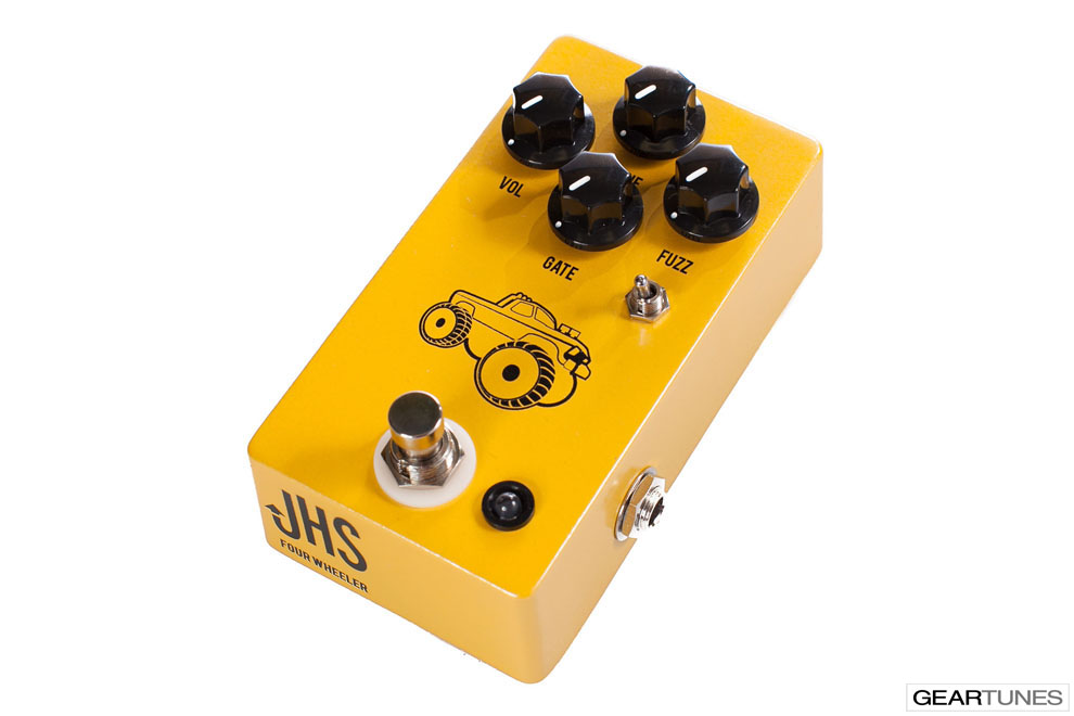 Bass Fuzz JHS 4 Wheeler 2