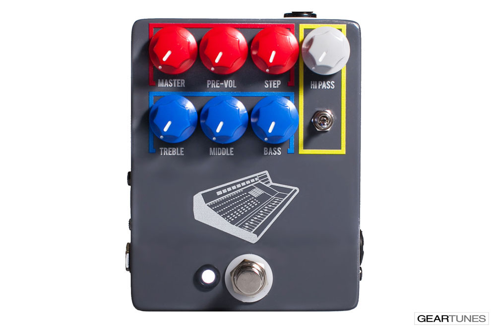 Compression and Sustain JHS Colour Box 4