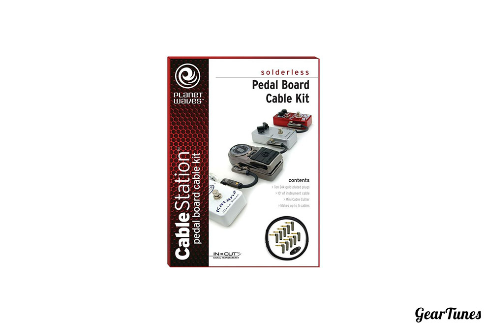 Accessories Planet Waves Cable Station Pedal Board Cable Kit