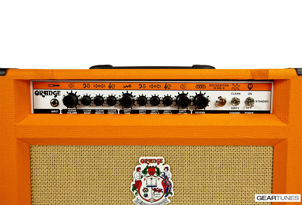 Combos Orange Rockerverb 50 MKII 1x12 Combo 5