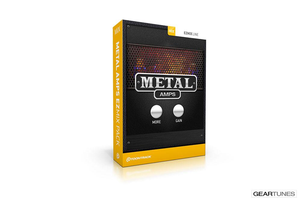 Recording Toontrack Metal Amps EZmix Pack