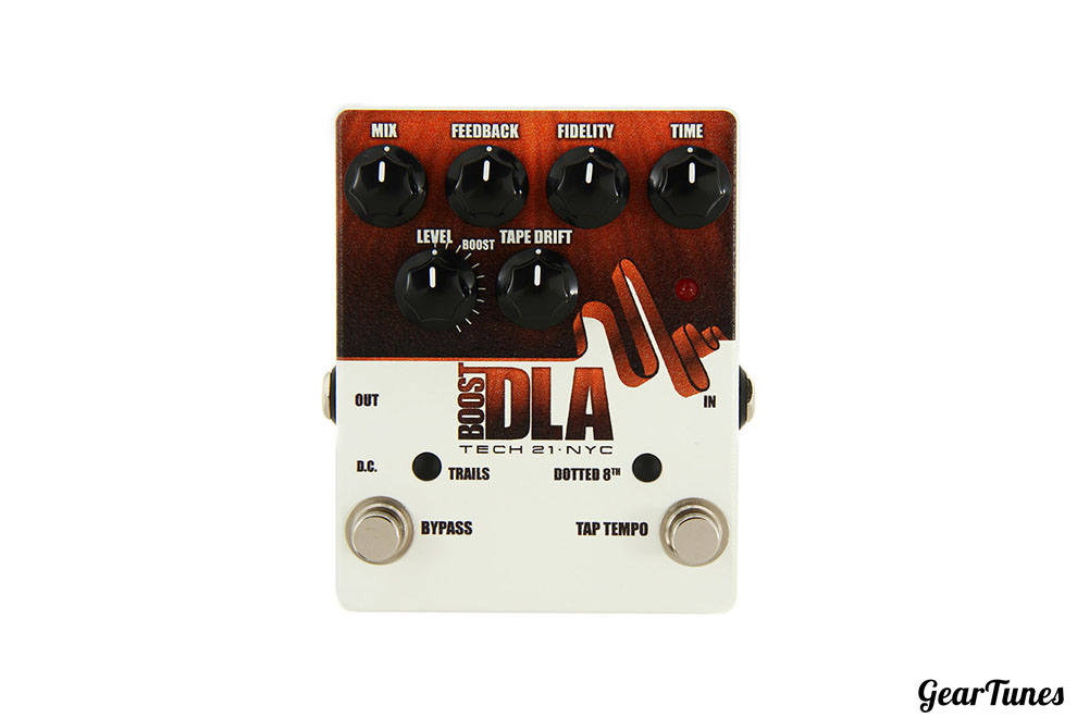 Effects Tech 21 Boost D.L.A. with Tap Tempo