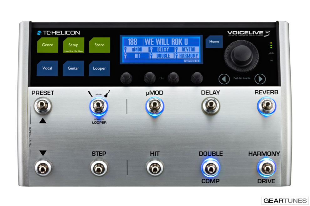 Guitars And Gear TC Helicon VoiceLive 3