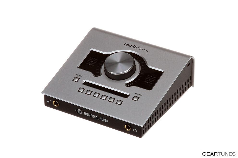 Recording Universal Audio Apollo Twin 2