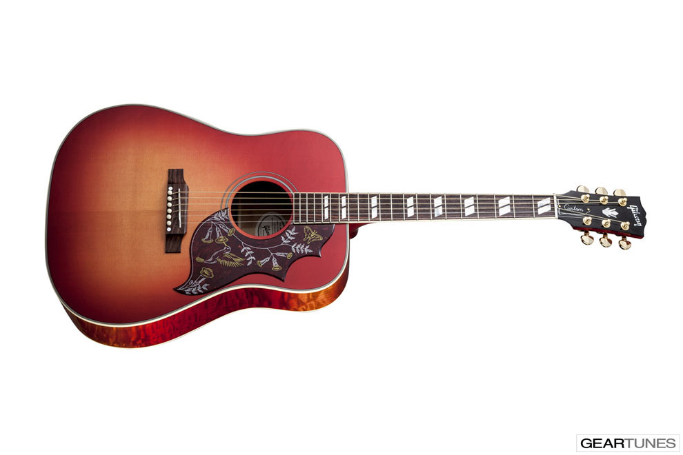 Guitars Gibson Hummingbird Quilt