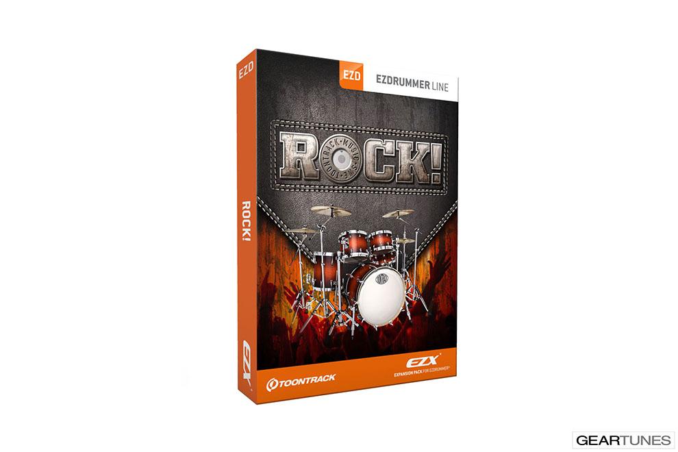 Recording Toontrack Rock ! EZX